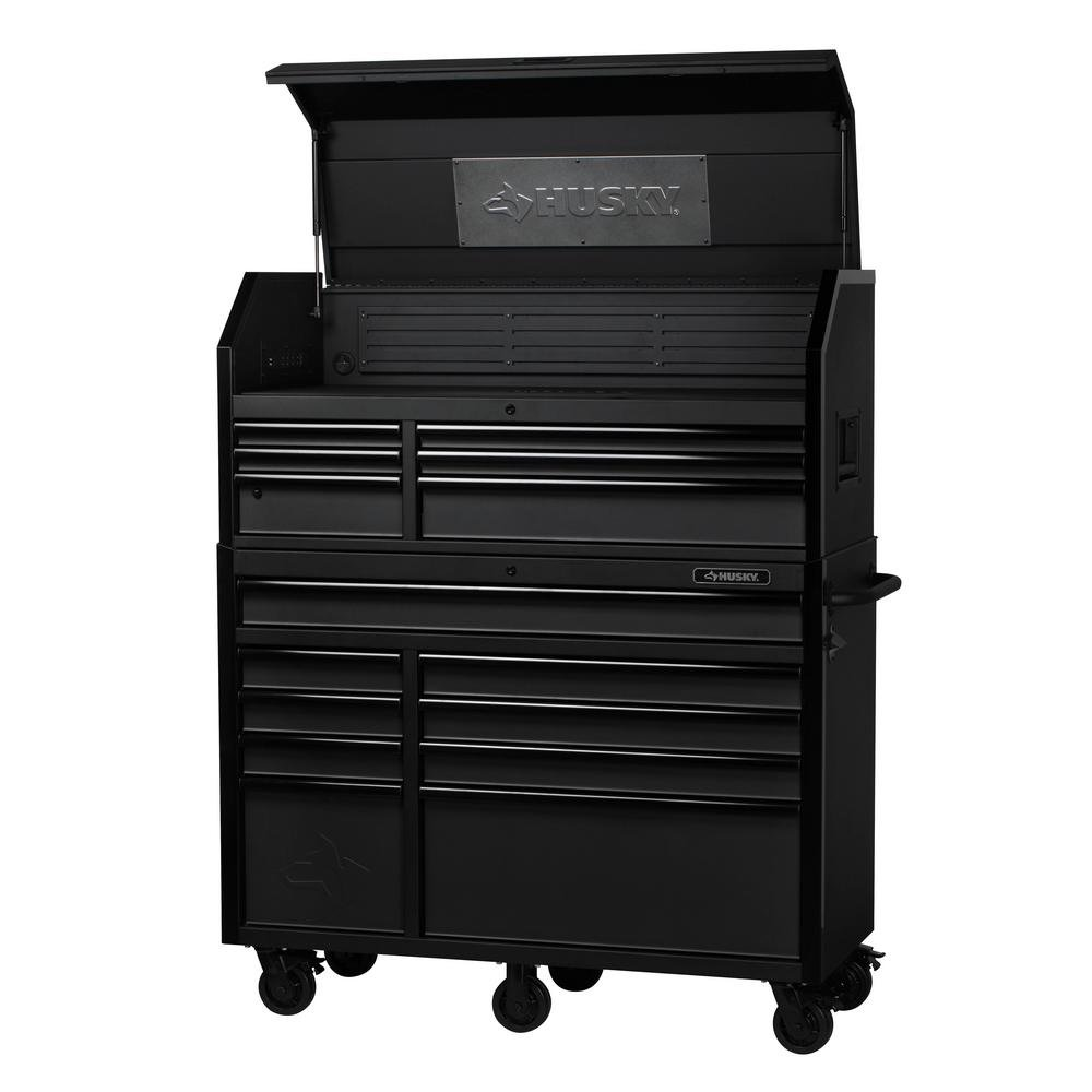 15 Drawer Industrial Tool Chest And Cabinet Combo H52ch6tr9hd Home Improvement