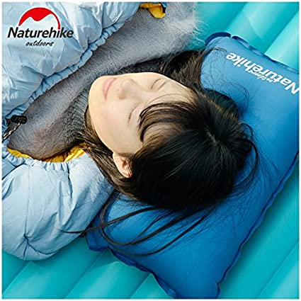 Grandbuy Online Shop NA Portable Ultralight Compact Inflatable Pillow for Lunch Break Office Working Car Traveling Camping Hiking Backpacking