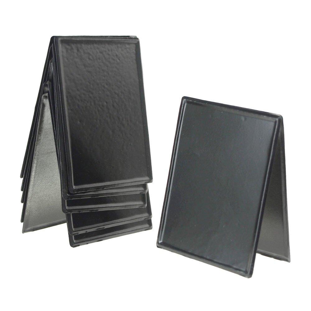 Amazon.com: homeford Metal pizarrón soporte de mesa, negro ...