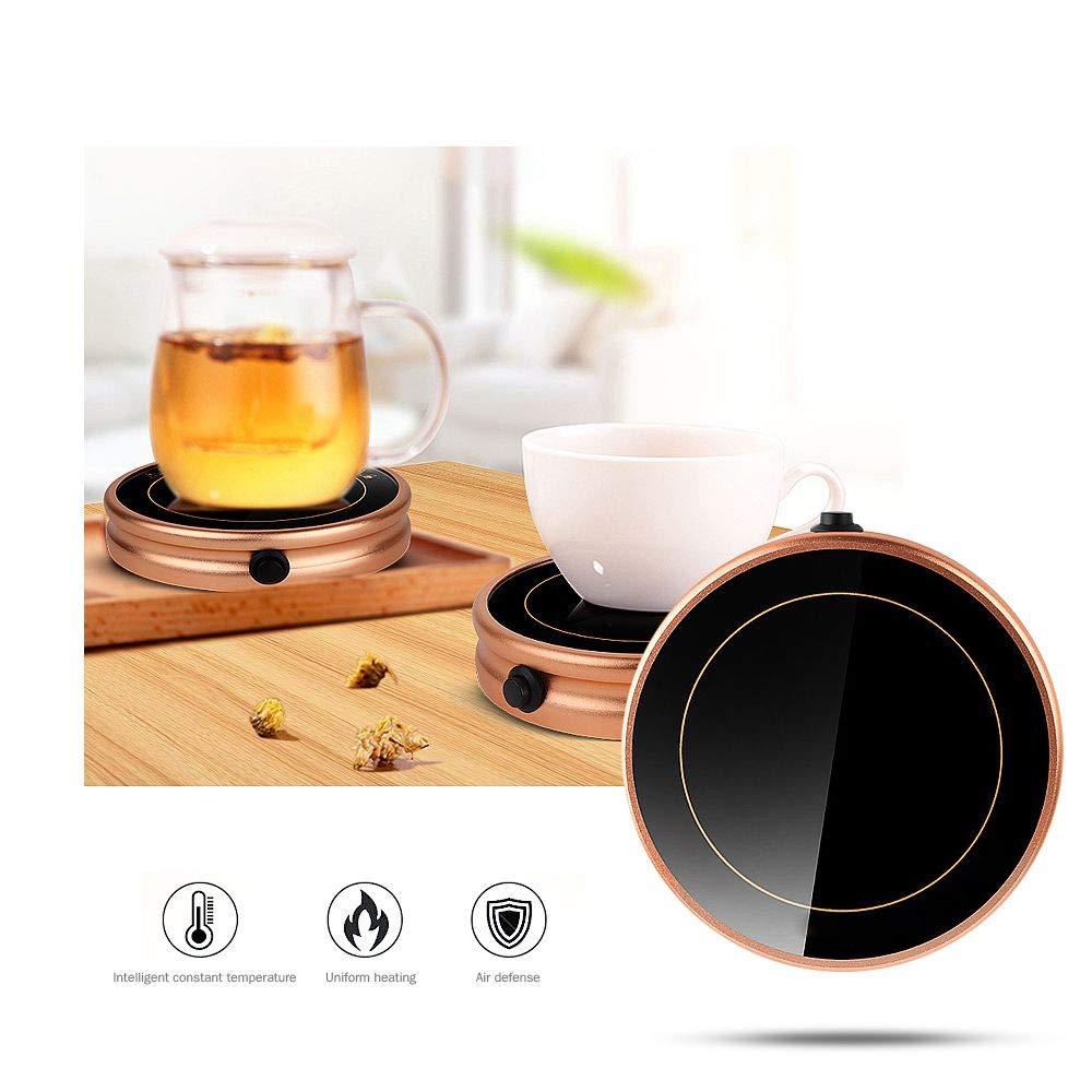 Mug Warmer, Desktop Heated Coffee & Tea - Candle & Wax Warmer by ESCAOR (Image #4)