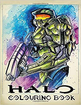 Fierce Halo Coloring Pages | Halo 5 Coloring | Free | Xbox Halo | 335x260