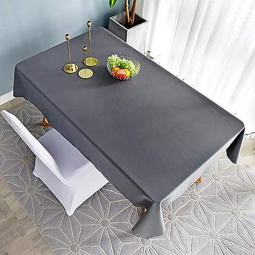 Manteles alargados, alfombras de mesa de té antiarrugas de color ...