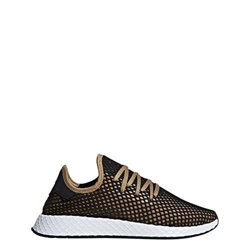 huge selection of cae76 893aa Adidas Originals Deerupt Runner Shoe Mens Casual 4 Cardboard-Black-White