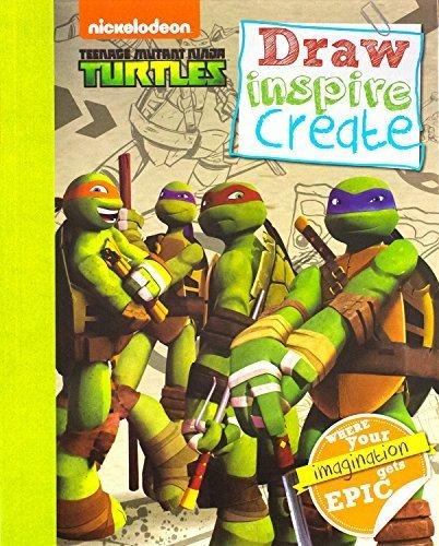 Teenage Mutant Ninja Turtles: Draw Inspire Create (Tmnt) by ...