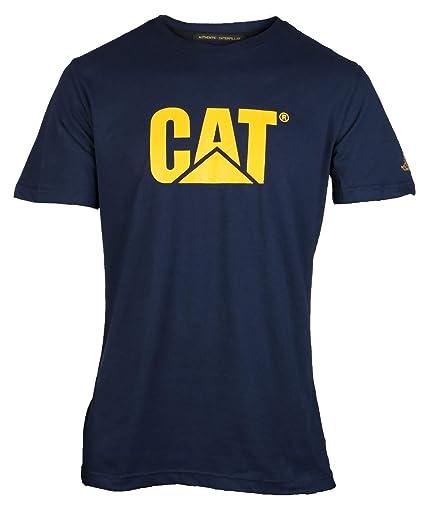 Caterpillar Mens Original Fit Logo Print Short Sleeve T-Shirt ...