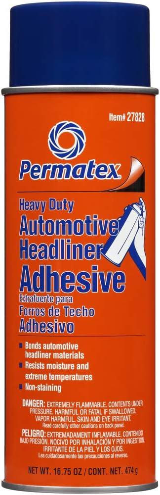 Permatex 27828身体店铺重型头链和地毯胶粘剂