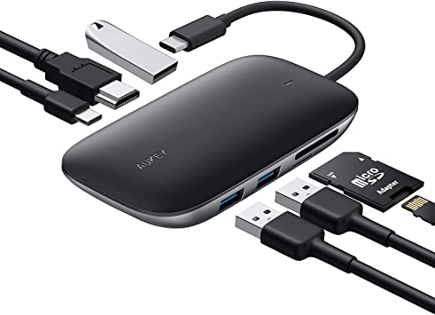 Amazon.com: AUKEY USB C HUB: Computers & Accessories