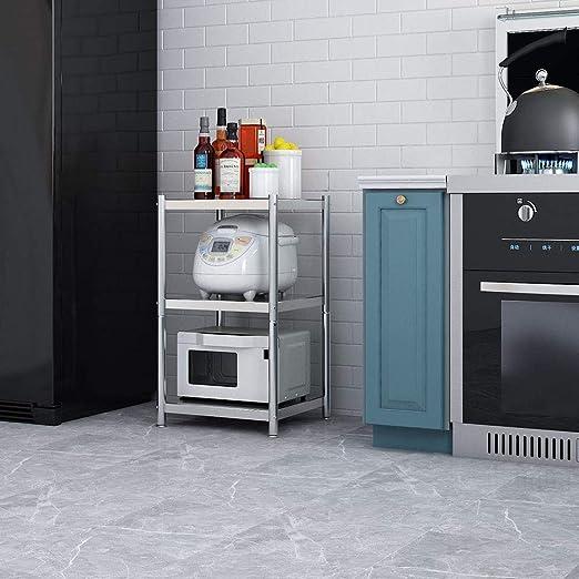 Soporte para Horno de Microondas 3-Tier cocina de metal de ...