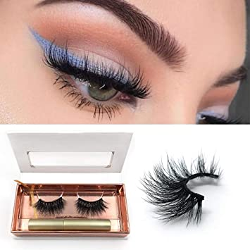804097191cb Amazon.com : Magnetic Eyeliner for use with Magnetic False Eyelashes  ,Liquild Magnetic eye Lashliner with Magnetic Fake eyelash kit : Beauty