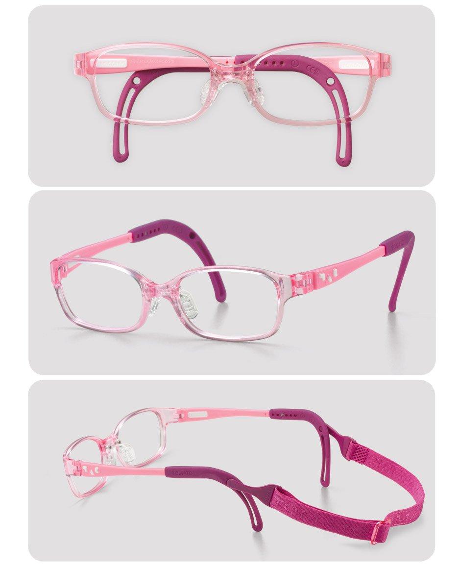 bd82e4e326 Amazon.com  Tomato Glasses Frame Specialized for Kids (TKCC8) (40 ㅁ 14)   Health   Personal Care