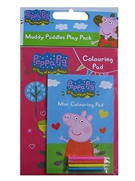 Peppa Pig Set Para Dibujar Con 2 Blocs Y Lápices Fantasy Pp0104