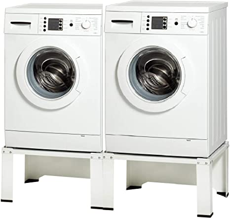 Estructura doble para lavadora, secadora, nevera, doble zócalo ...