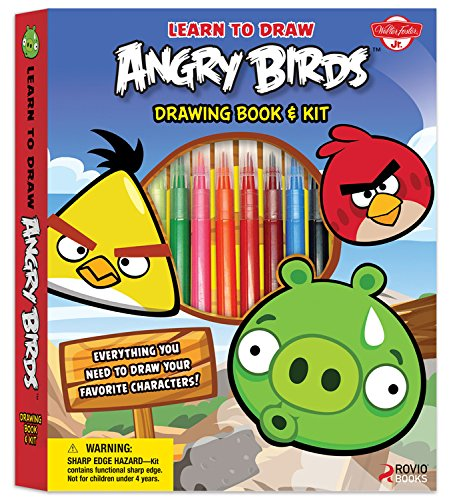Learn to Draw Angry Birds Drawing Book & Kit: Includes everything you need to draw your favorite Angry Birds characters! (Licensed Learn to Draw)
