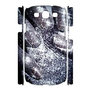 Silver Bling Unique Design 3D Cover Case for Samsung Galaxy S3 I9300,custom cover case ygtg593240