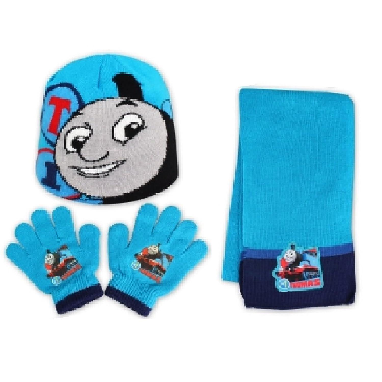 Thomas Tank Engine - Set de bufanda, gorro y guantes - para niño