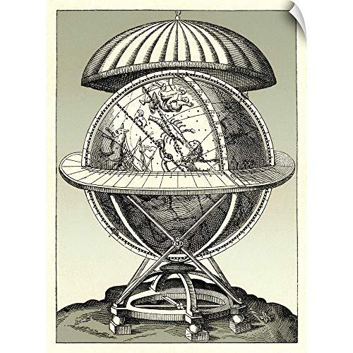 CANVAS ON DEMAND Tycho Brahe's Celestial Sphere, 1584