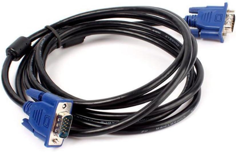 t/él/évision Rallonge et convertisseur VGA mle vers mle pour PC /écran 10 m