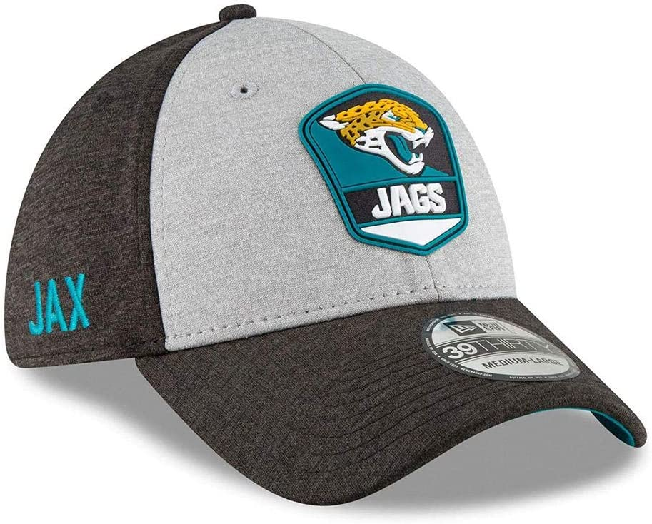 New Era 39Thirty Cap Black Sideline Jacksonville Jaguars