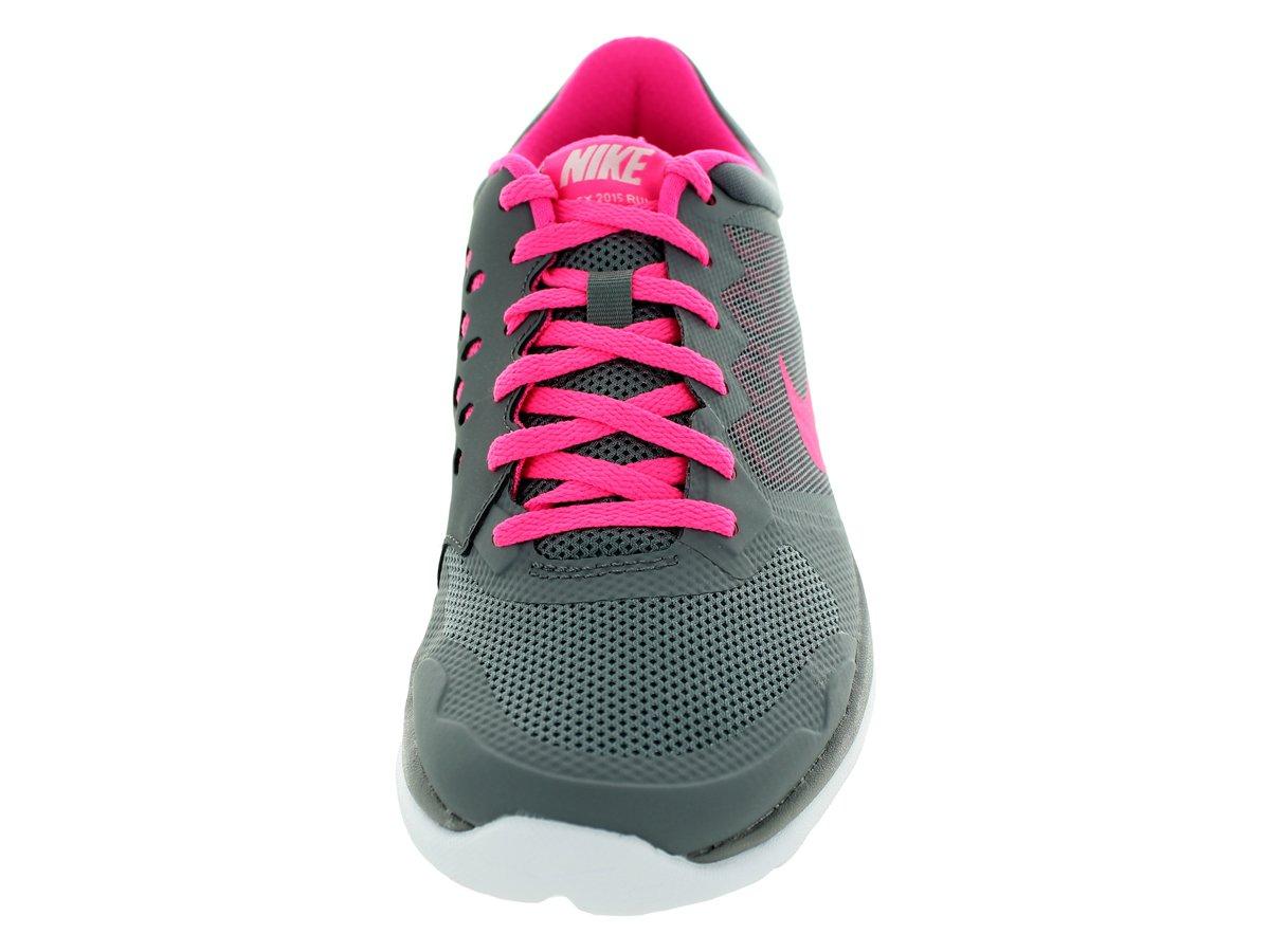 new styles 758e6 6e07b Nike Flex 2015 Run Women Laufschuhe Cool Grey-Pink Pow-White - 36,5   Amazon.es  Amazon.es