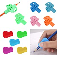 UCEC 10PCS Pencil Grips for Children, Original Universal Ergonomic Writing Aid for Righties and Lefties, Assorted Colors