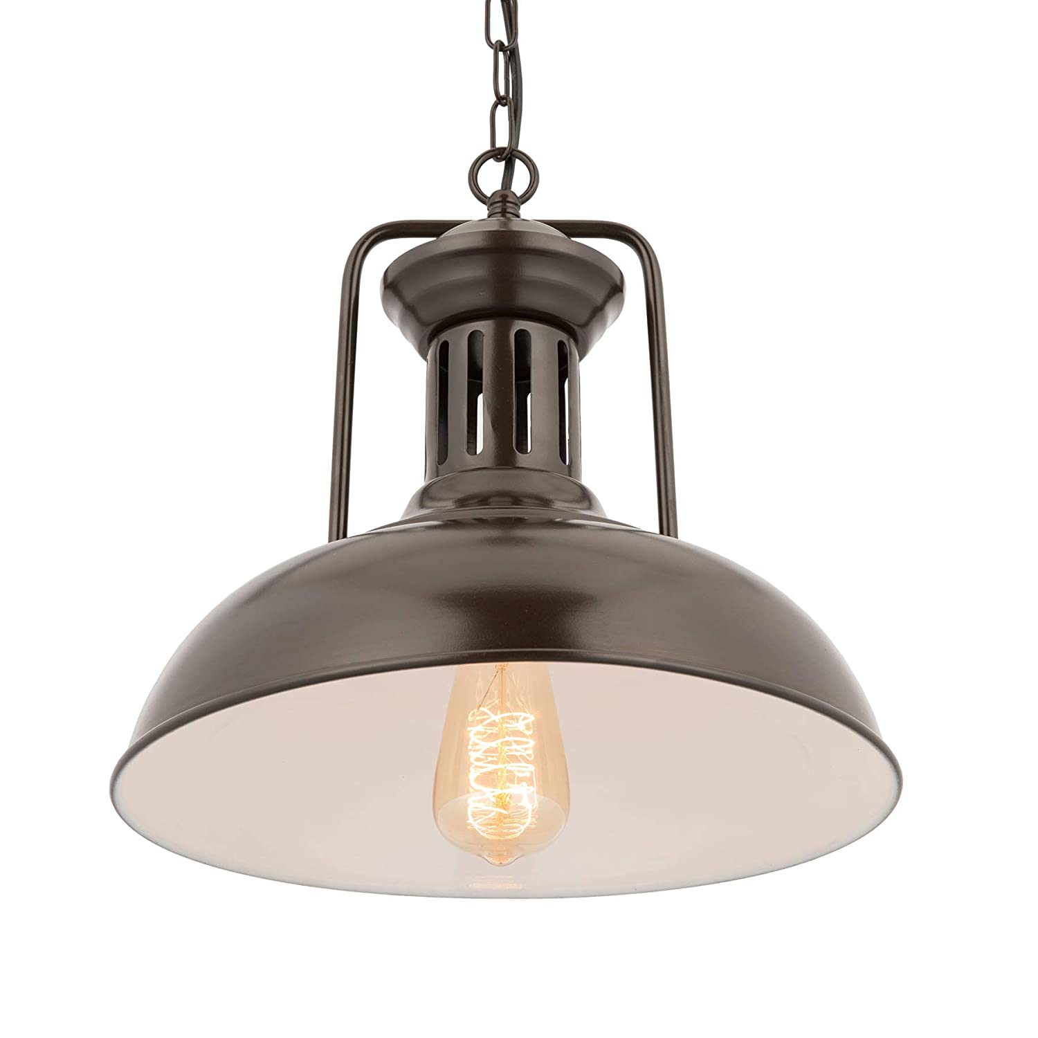 CO-Z Oil Rubbed Bronze Industrial Farmhouse Pendant Light Large Hanging Ceiling Lighting Fixture for Kitchen