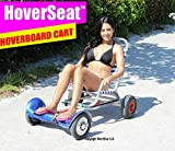 HOVERSEAT – SITTING ATTACHMENT FOR HOVERBOARD. HOVERBOARD CART ATTACHMENT TO RIDE HOVERBOARDS SITTING.
