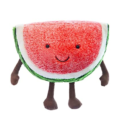 TotallyFashion - Almohada de peluche con diseño de frutas ...