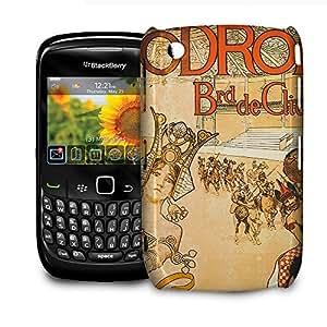 Phone Case For BlackBerry Curve 8520/9300 - Hippodrome French Art Deco Premium Slim