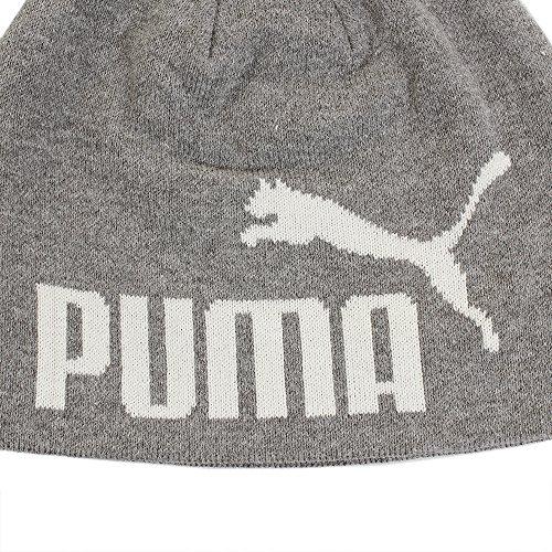 Gray Heather Peacoat ESS Adulto Puma White Unisex Beanie Big Cat Light BYwq18