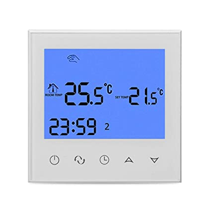 Programmable Wireles Wifi Digital Heating Thermostat Phone App Control - Electrical Gadgets & Tools Temperature Controller