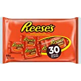 REESE'S Peanut Butter Cups, Halloween Chocolate Candy, Halloween Candy for Trick or Treat, 30 Count, 468 Gram