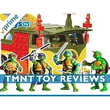 Review: Teenage Mutant Ninja Turtles Toy Reviews