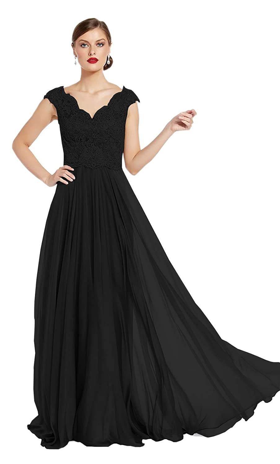 22912f92beb A Line Mother Of The Bride Dress