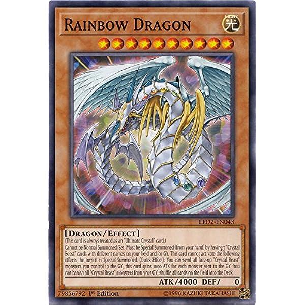 Yu-GI-OH Regenbogenfinsternisdrache Ultra Rare BLRR-DE054 NEU!