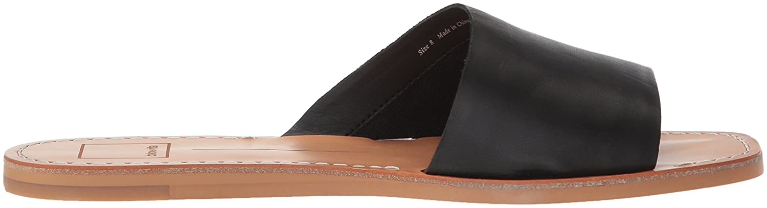 Dolce Vita Women's Cato Slide Sandal B0784HHPMR 11 M US|Black Leather