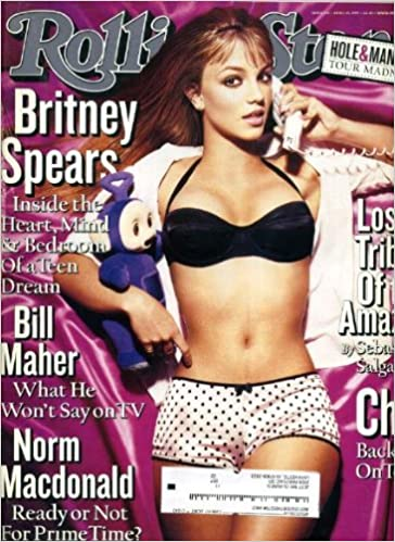 Rolling Stone April 15 1999 #810 Britney Spears Cover, Cher, Bill Maher,  Norm Macdonald, Hole, Marilyn Manson, Dusty Springfield: Amazon.com: Books