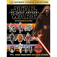 Ultimate Sticker Collection: Star Wars: The Force Awakens Stickerscapes: Make Your Own Amazing Scenes!