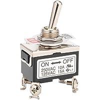 uxcell eléctrico 1NO 1NC contactos botón Micro interruptor