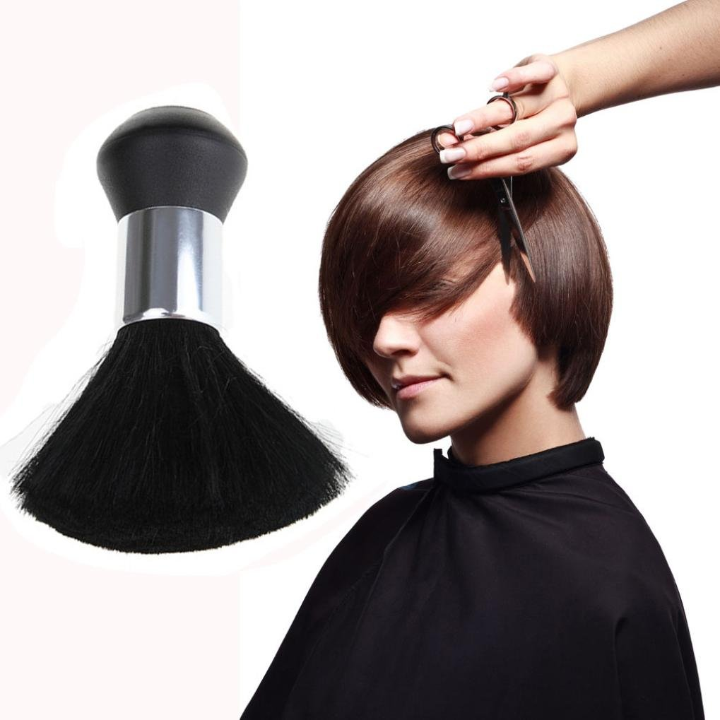 Banstore Professional Black Hairdressing Stylist Barbers Salon Hair Cut Neck Duster Brush