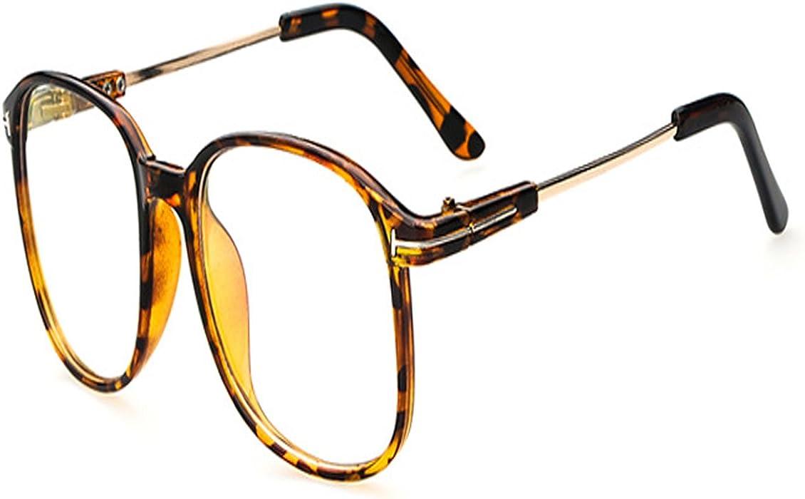 8b914592b0 Vintage Retro Round Glasses Frame For Women Nerd Eyeglasses Frames Men  Clear Fake Glasses Eyewear Oculos ...