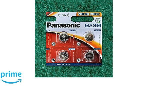 Panasonic 2 x CR2032 batería (, 2 Unidades), Pilas de botón de ...