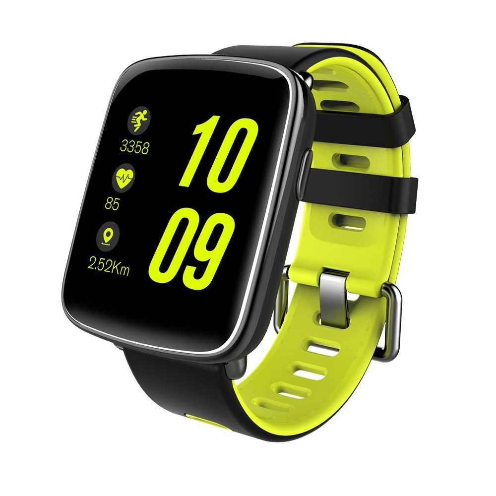 bong most comfortable Smartwatch 1.54 inch Scratch Proof Screen Water Resistance IP68 Heart Rate Sleep Monitor Anti Lost Remote Control Compatible with iOS and Android by bong