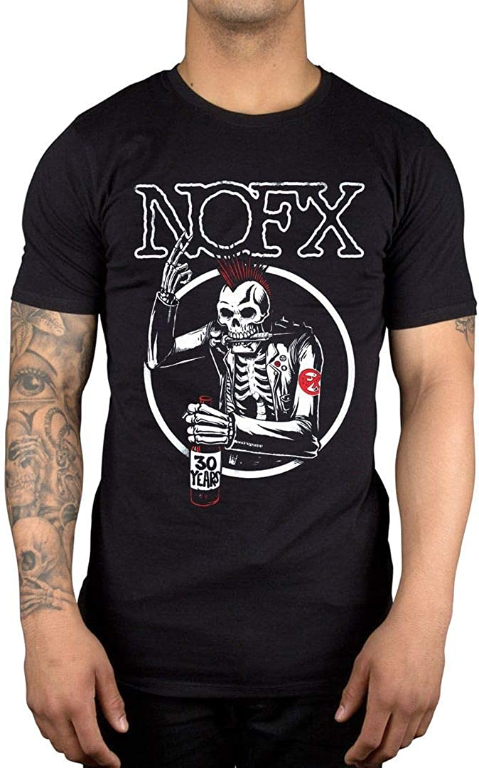 Offiziell NOFX Old Skull T-Shirt