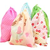 Dust-proof Non-woven Drawstring Portable Storage Bag Dress Shoes Bags Pouches Case Package Set of 10