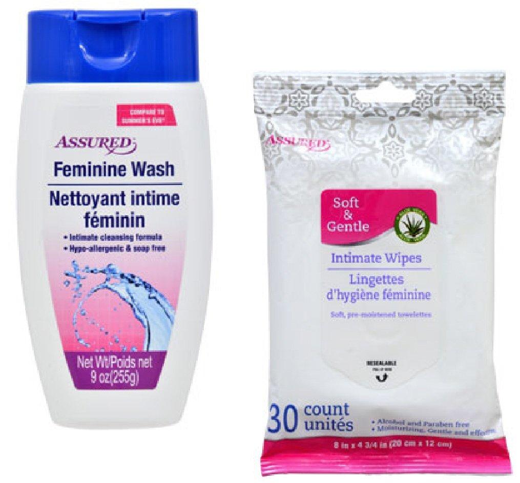 Feminine Hygiene Wash & Intimate Wipes
