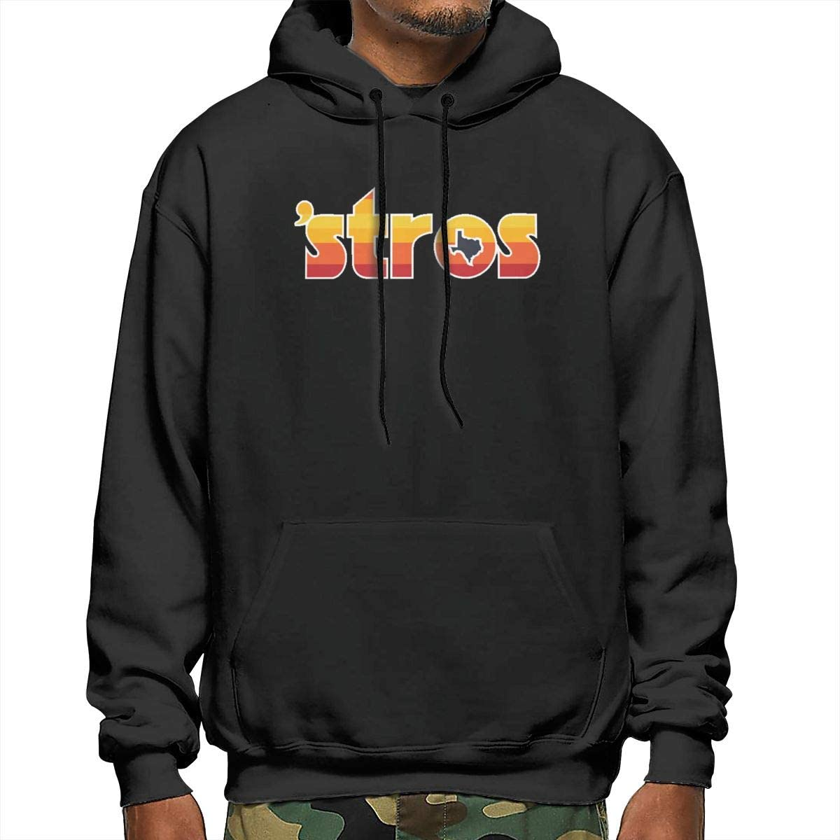 Astro Inspired Stros Throwback Pullover Hoodie Sweatshirt Mens Performance Active T-Shirt Hoodie