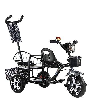 QQB &Carro Plegable Push Bike Twin Stroller Twins Silla de Dos ...