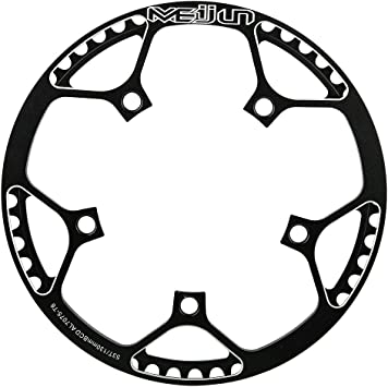 Tbest Anillo de Cadena de Bicicleta,Plato de Bicicleta 53T BCD ...