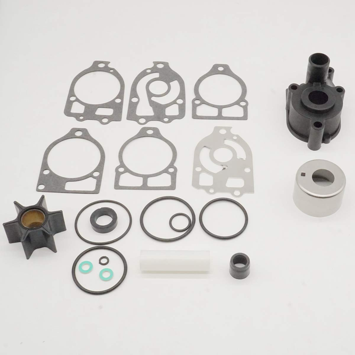 GHmarine Water Pump Impeller Kit for Mercruiser Alpha One 46-96148A8 46-96148Q8 46-96148T8 46-96148A5 46-42579A4 46-44292A4 46-48747A3