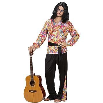 Net Toys Hippie Outfit Herren 70er Jahre Kostum S 48 Hippiekostum